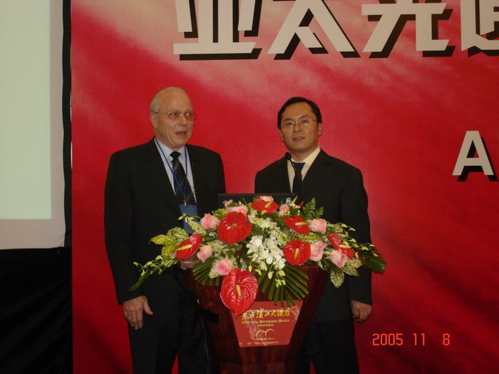 cohost APOC2005 with Peter Kasiser of SP… - 闫跃龙 - 闫跃龙的博客
